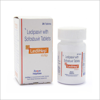 Ledipasvir 90mg And Sofosbuvir 400mg