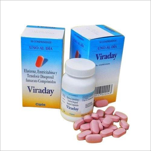 200 mg Emtricitabine 300mg Tenofovir disoproxil fumarate 600mg Efavirenz Tablet