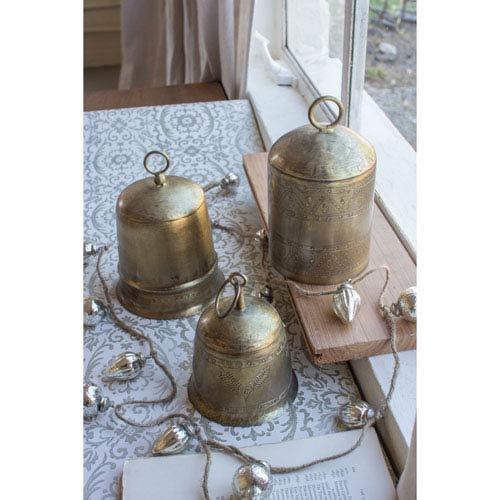 Antique Brass Bells
