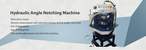 Hydraulic Angle Notching Machine
