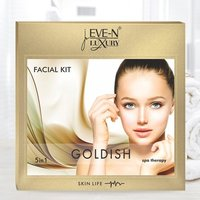 EVE-N LUXURY FACIAL KIT 5 IN 1  GOLDISH  WT. 108 G