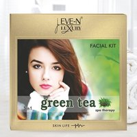EVE-N LUXURY FACIAL KIT 5 IN 1  GREEN TEA  WT. 108 G