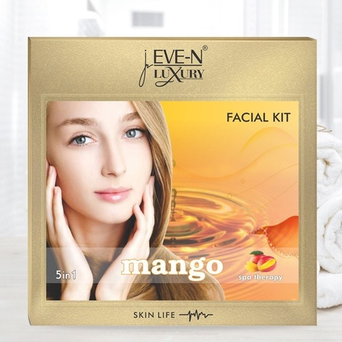 EVE-N LUXURY FACIAL KIT 5 IN 1  MANGO  WT. 108 G