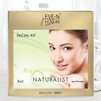 EVE-N LUXURY FACIAL KIT 5 IN 1  NATURALIST  WT. 108 G