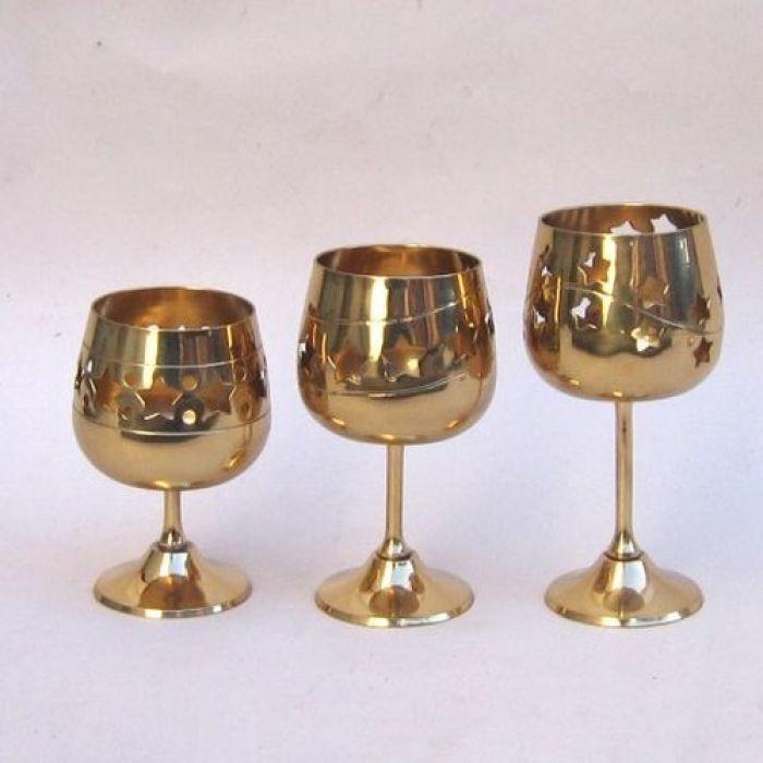 Three Star Votive Candle Set