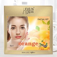 EVE-N LUXURY FACIAL KIT 5 IN 1  ORANGE  WT. 108 G