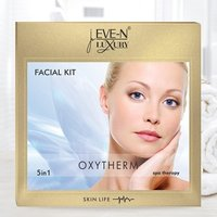 EVE-N LUXURY FACIAL KIT 5 IN 1  OXYTHREM  WT. 108 G