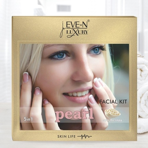 EVE-N LUXURY FACIAL KIT 5 IN 1  PEARL  WT. 108 G