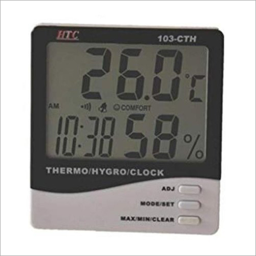 Big Disply Thermo Hygrometer Clock