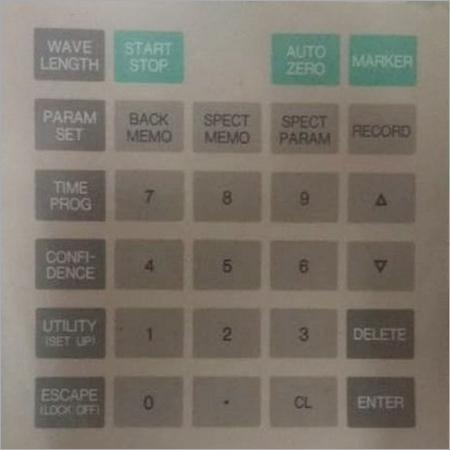 Industrial UV Detector Keypad