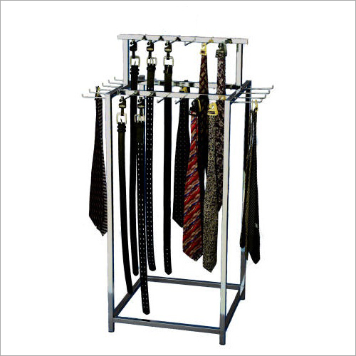 Four Way Tie And Belt Hanging Display