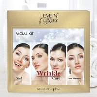 EVE-N LUXURY FACIAL KIT 5 IN 1  WRINKLE  WT. 108 G