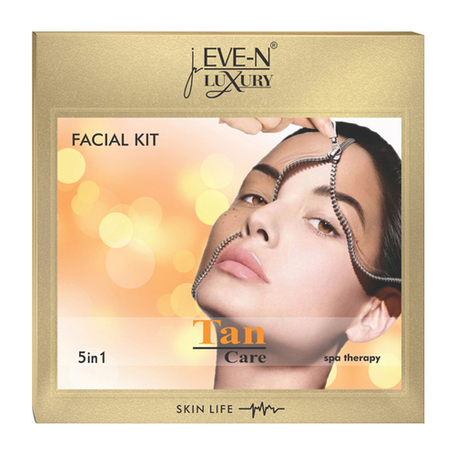 EVE-N LUXURY FACIAL KIT 5 IN 1  TAN  WT. 108 G