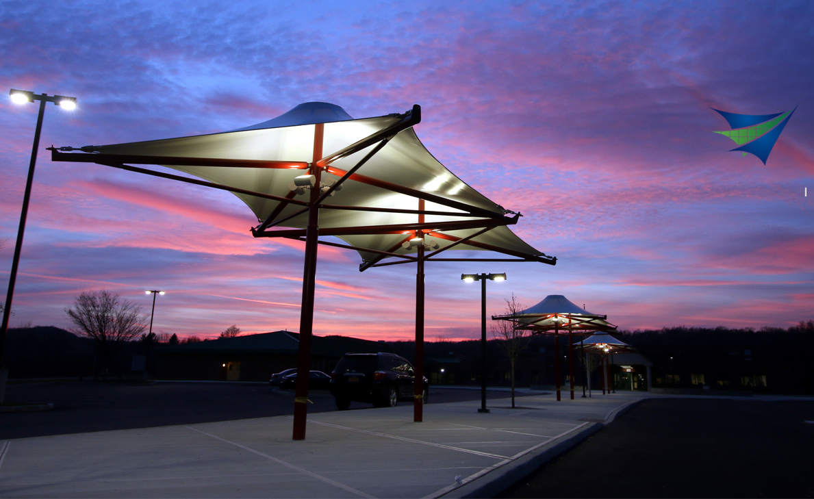 TENSILE ROOFING STRUCTURE