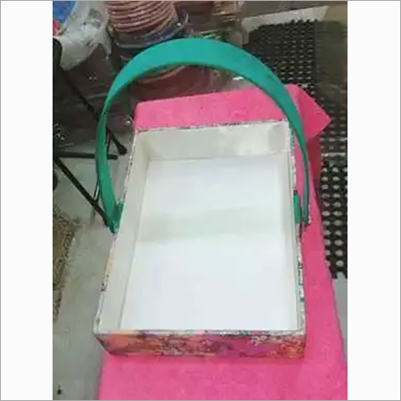 rectangular decorative basket