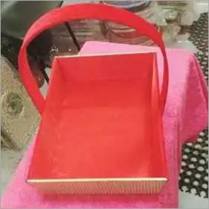decorative square basket