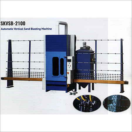 Automatic Vertical Sand Blasting Machine