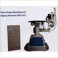 Glass Shape Beveling and Edging Machine