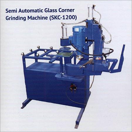 Semi Automatic Glass Corner Grinding Machine