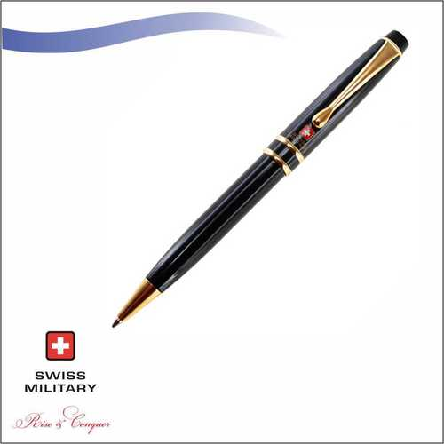 Swiss Military Titanium Plus 24k Gold Plated Ball Pen