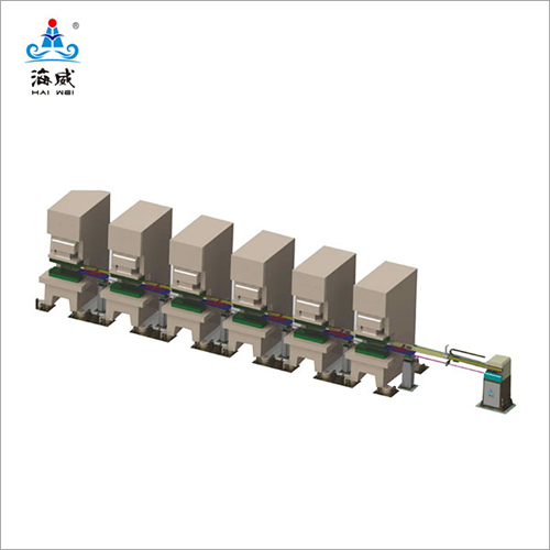 Frame Moving Model Multi Process Transfer System