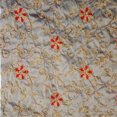 Tafeta zwei Ton mit Anmol dem Schnüren und Multy Blume