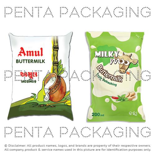 Buttermilk Packaging Film