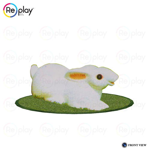 Plastic Animal Rabbit