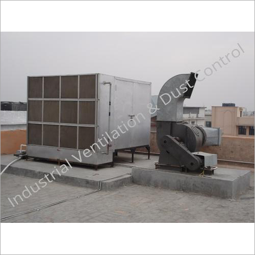 Single Skin Air Cooling Machine