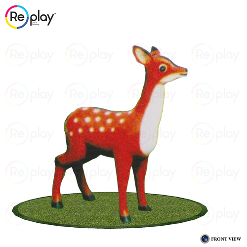 Plastic Animal Statue Deer