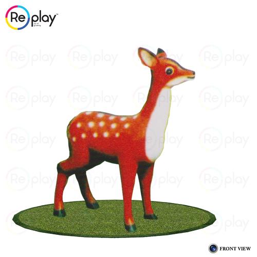 Plastic Animal Statue Deer