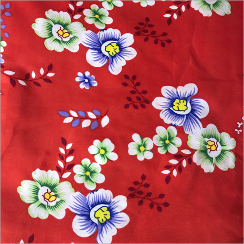 Red Printed Bed Sheets