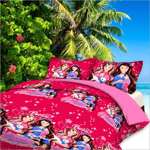 3D Cartoon Printed Bed Sheets