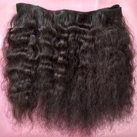 Indian Natural Afro Curly Human Hair Extension