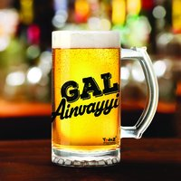 Gal Ainvayyi Hi | 600ml - Yedaz Matte Finish Glass Bollywood Beer Mug