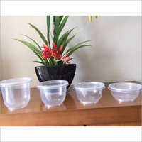 Hinged Bowl Container