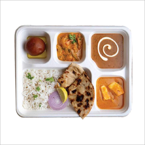 Ecoware 5 Compartment Lunch Plate