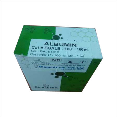 Albumin Test Kit