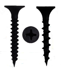 Grey And Black Phosphated Drywall Screws