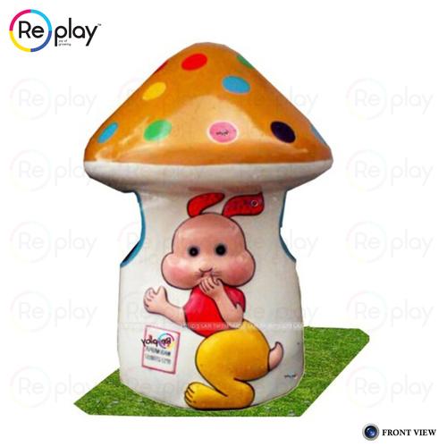 Mushroom Dustbin