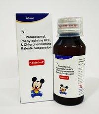 Paracetamol 125 mg + Phenylephrine HCL 5 mg + Chlorpheniramine Maleate 1 mg
