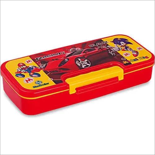 Kidzi Big Plastic Pencil Box