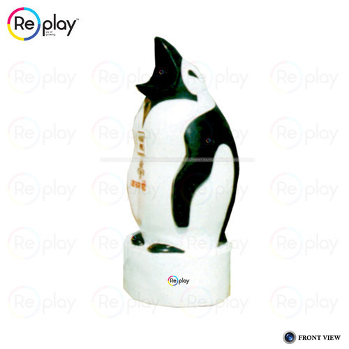 Open Mouth Penguin Dustbin