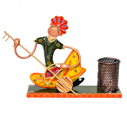 Iron Painted Setting Musician Pen Stand Holder