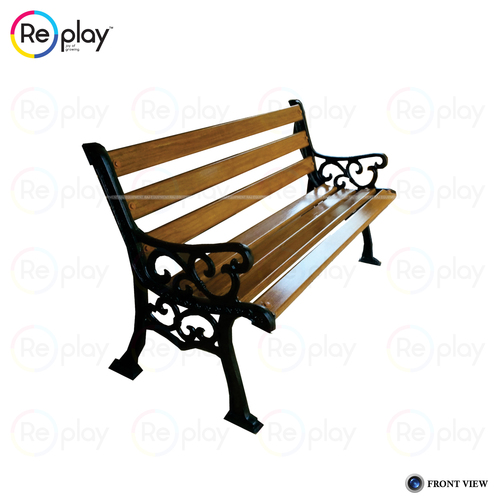 FRP Strip Cast Iron Bench
