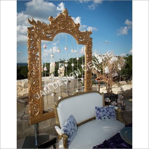 Outdoor Wedding Mirror Frame Service