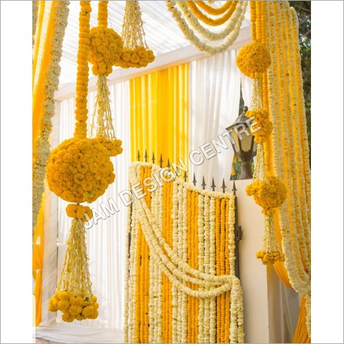 Decorative Wedding Flower Toran Decoration Service