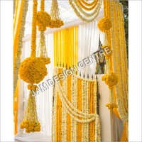 Decorative Wedding Flower Toran Decoration Service