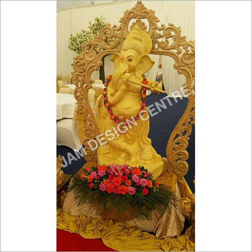 Ganesh Flower Decoration
