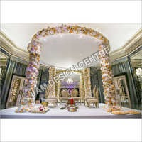 Wedding Decoration Flower Mandap Service